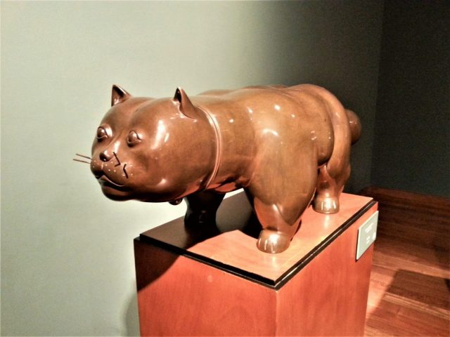 Botero's Fat Cat - Awesome budget Bogota things to do in Bogota Colombia - what to do in Bogota for Backpackers