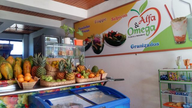 Try Alpha & Omega for your Fruit Fix in Guadalupe