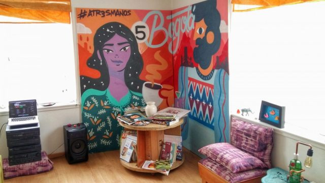 Diana's bright and airy home in Bogota - the 5Bogota Market Tour & Cooking Class
