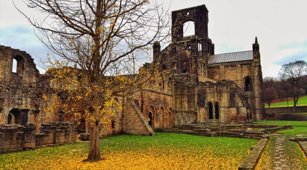 Winter Colour at the Ruins of Kirkstall Abbey Leeds - things to do in Leeds England Yorkshire