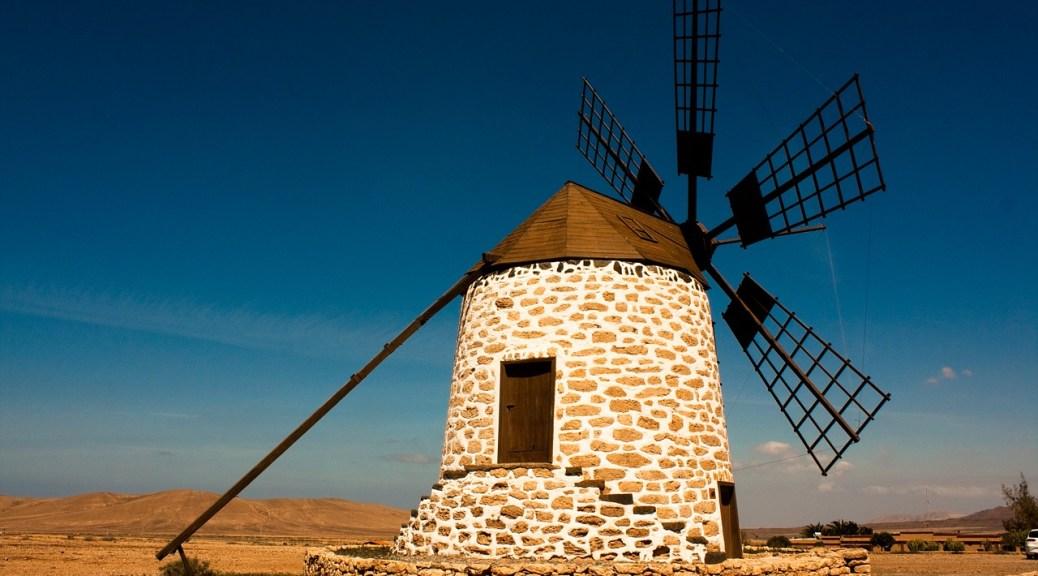 Windmill in Fuerteventura - Things to do in Fuerteventura