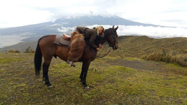 Horse Riding to Cotopaxi Volcano in Cotopaxi National Park Ecuador