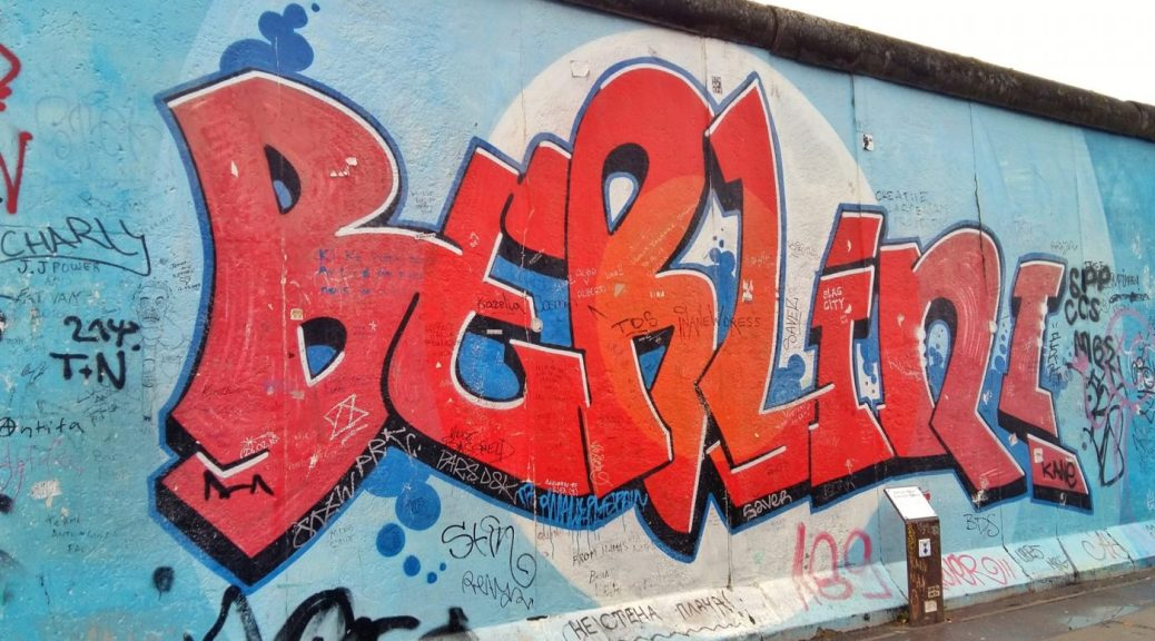 Visiting the Berlin Wall - East Side Gallery