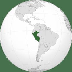 Backpacking Peru - Where is Peru