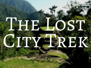 The Lost City Trek Backpacking Colombia
