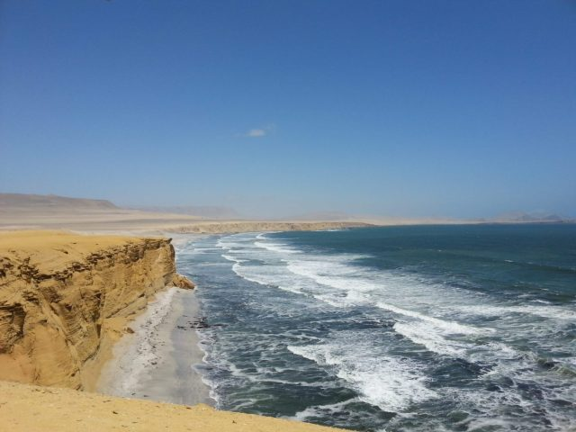 Paracas Natural Reserve in Peru - Backpacking Peru