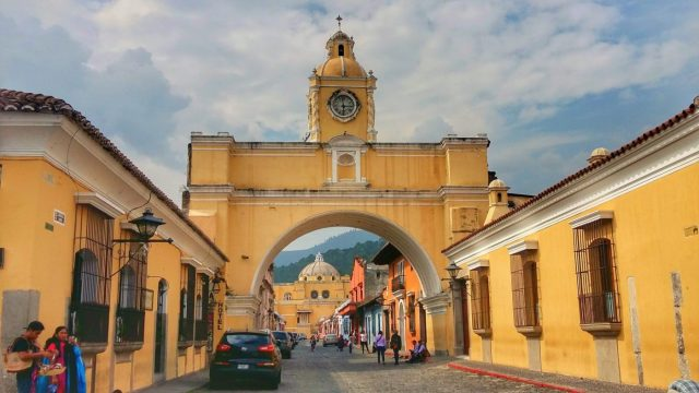 The Arch in Antigua - Backpacking Guatemala Guide