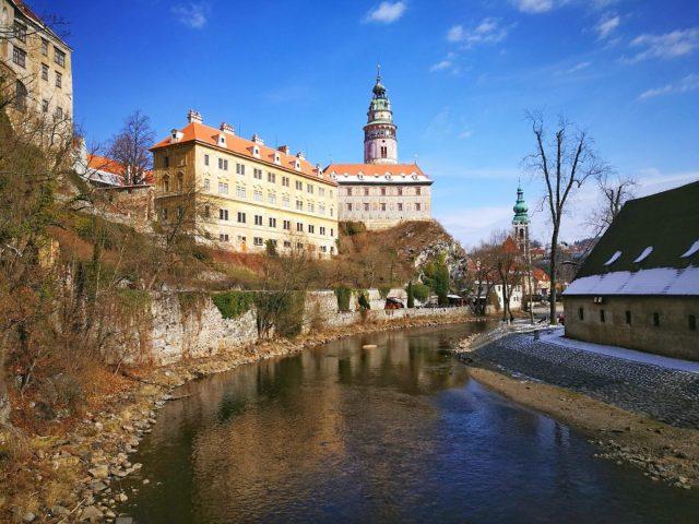 Cesky Krumlov Castle is the 2nd Largest Castle complex in the Czech Republic