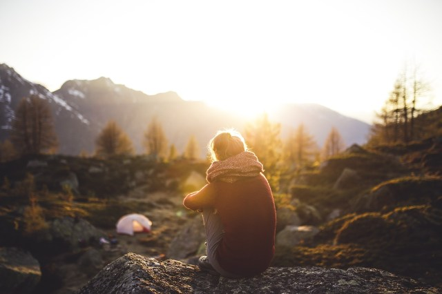 Camping Alone Safely - 7 Solo Camping Tips: Choose a Campsite carefully, don't be too isolated