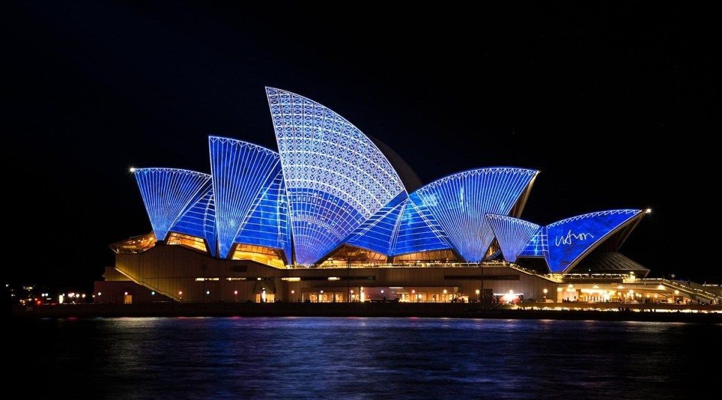 Sydney Opera House by Night - My Australia Bucket List