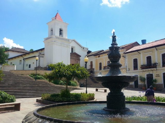Colonial Architecture in Quito - Backpacking Ecuador Travel Guide