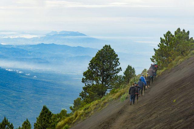 Beautiful Scenery during the Acatenango Hike