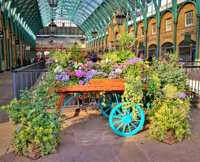 Colourful Covent Garden - London in 2 days itinerary