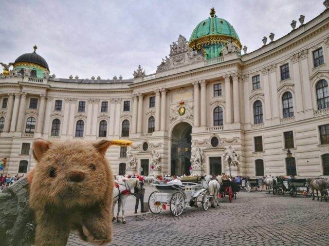 Where's Wagner Wombat? The Hofburg Palace- Places to Visit in Vienna in 2 Days