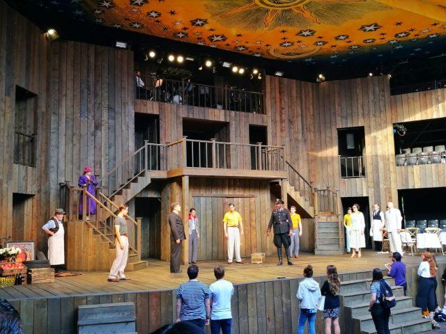 Romeo & Juliet begins at the Rose Theatre York