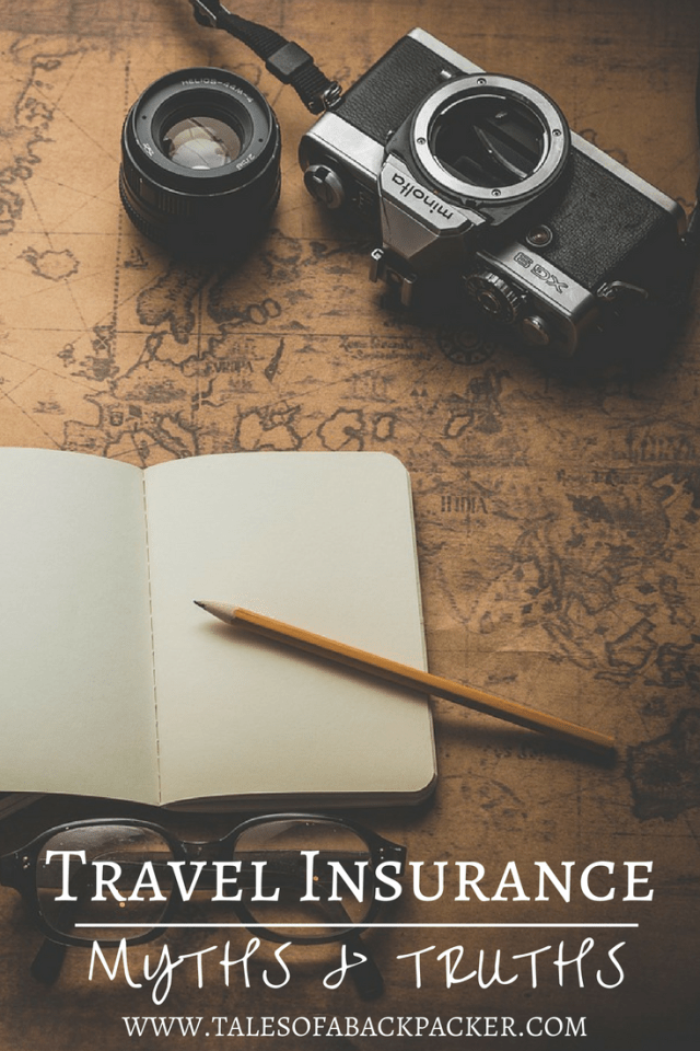 Travel Insurance Myths & Truths. Why you need travel insurance and tips to choose travel insurance. #Travel #Traveltips