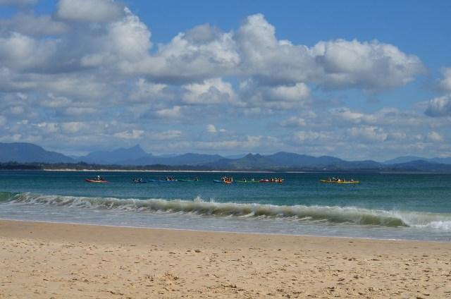 Sea Kayaking at Byron Bay - Byron Bay Backpacking Guide