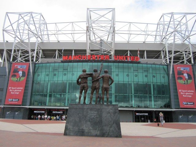 Manchester United's Football Ground, Old Trafford