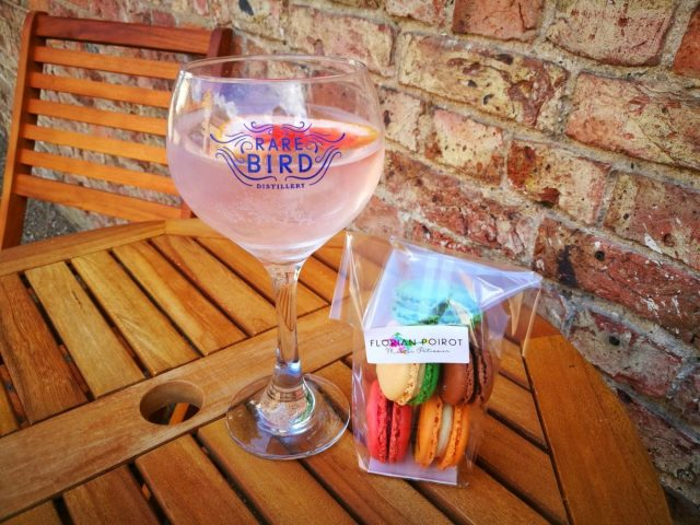 Amazing Food in Yorkshire - Gin and Macarons from Talbot Yard in Malton