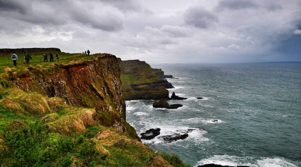 Hiking on the Causeway Coastal Route Walk - Giants Causeway Tour from Belfast