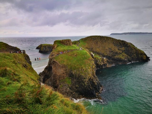 Carrick-A-Rede Rope Bridge - Another stop on our Giant's Causeway Tour from Belfast