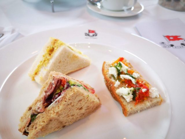 Finger Sandwiches for afternoon tea at the Titanic