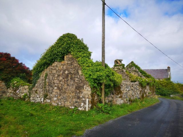 A Ruined Cottage on Inis Mor, Left for the Next Generation to Return to the Aran Islands