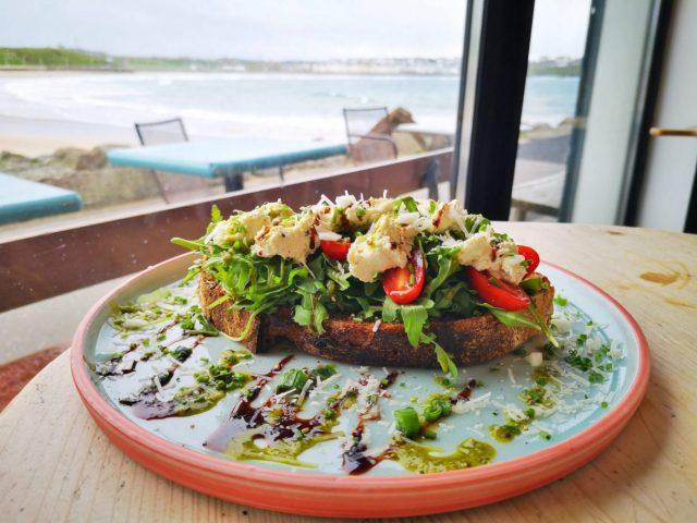 Lunch at Babushka Kitchen Cafe in Portrush - Restaurants in Portrush