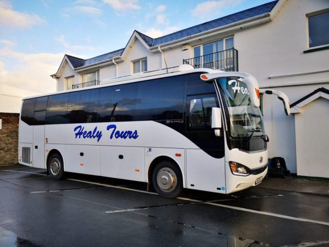 Our Shamrocker Bus - A good size for Coach Tours in Ireland