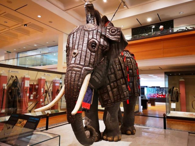 Elephant Armour at the Royal Armouries Museum Leeds - Free Museums in Leeds