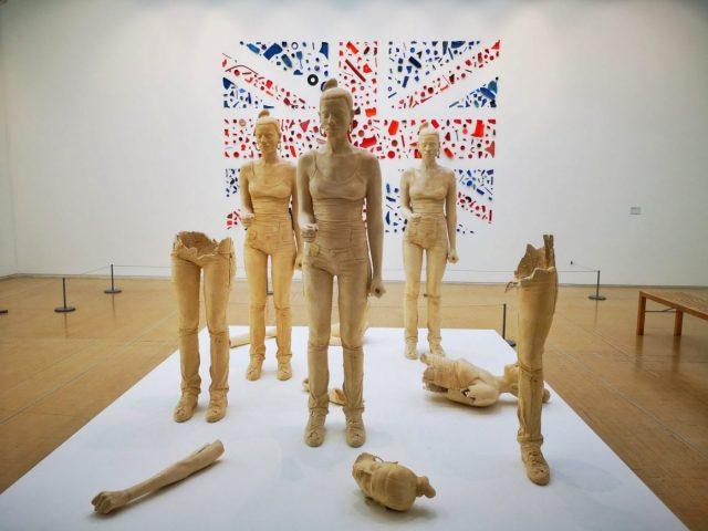 Modern Art works in the Leeds Art Gallery