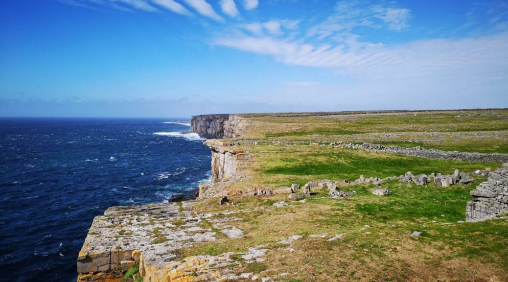 The Cliffs of Inis Mor on the Aran Islands