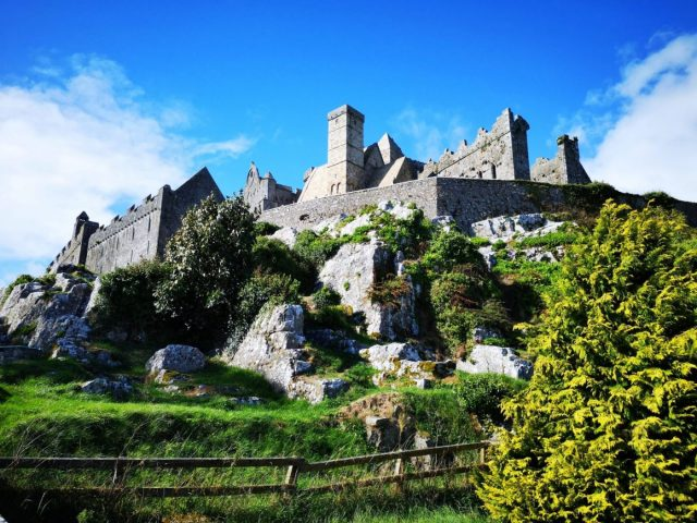 The Rock of Cashel - usually included in a Blarney Castle Tour from Dubline