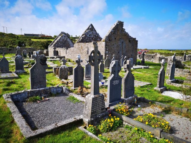 The Ruins of the Seven Churches on Inishmore - Visiting the Aran Islands from Galway