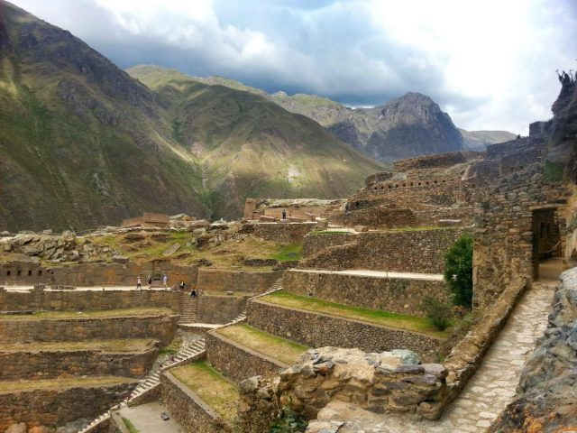 The Terraces and Temple Hill at Ollantaytambo - going from Cusco to Ollantaytambo