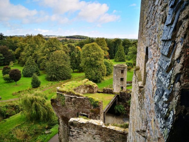 The View from Blarney Castle