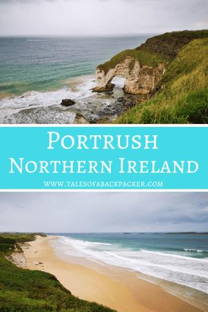 Things to do in Portrush Northern Ireland #Portrush #NorthernIreland #UK #Beaches #WhiteRocksBeach #DunluceCastle #Travel