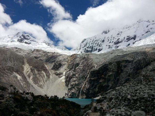 Approaching Laguna 69 Huaraz Peru
