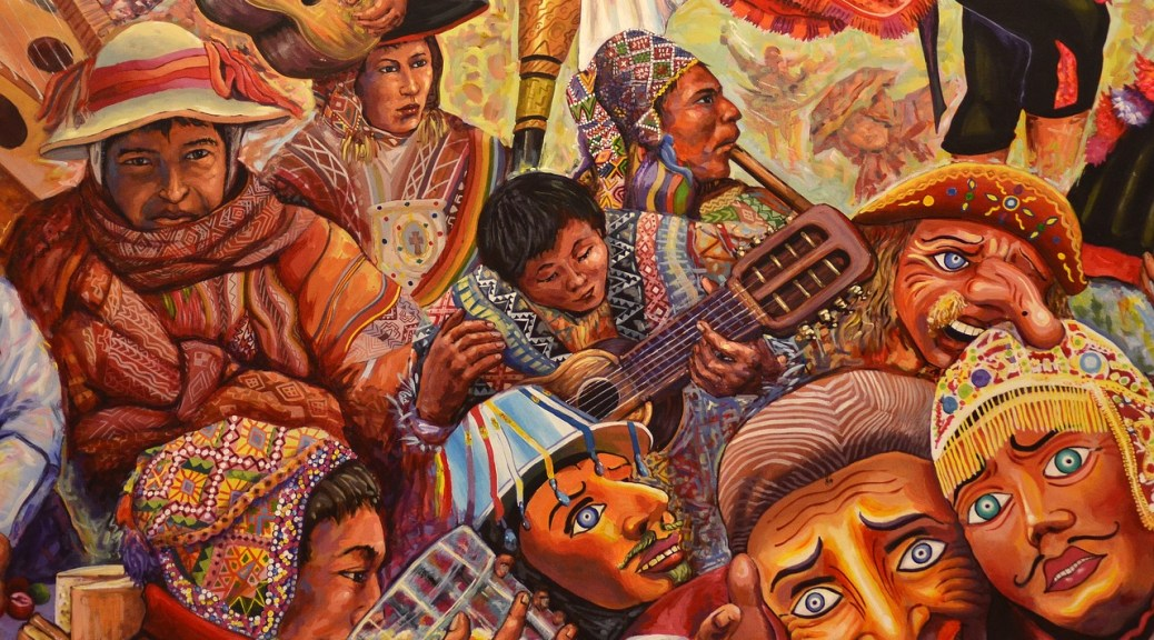 Indigenous Art in Cusco Peru - Boleto Turistico Cusco Tourist Ticket
