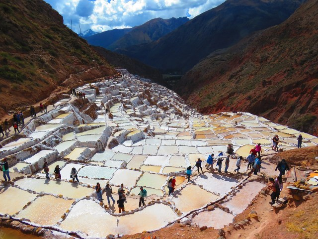 Maras Salt Ponds - Day Trips from Cusco Peru