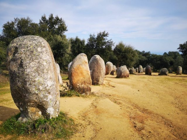 The Almendres Cromlech in Evora Portugal - an Evora Megaliths Tour