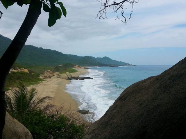 Arrecifes Beach in Tayrona National Park