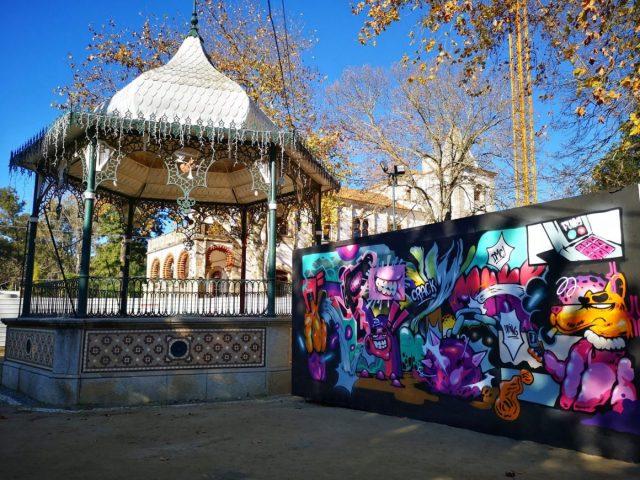 Jardim Publico in Evora Portugal
