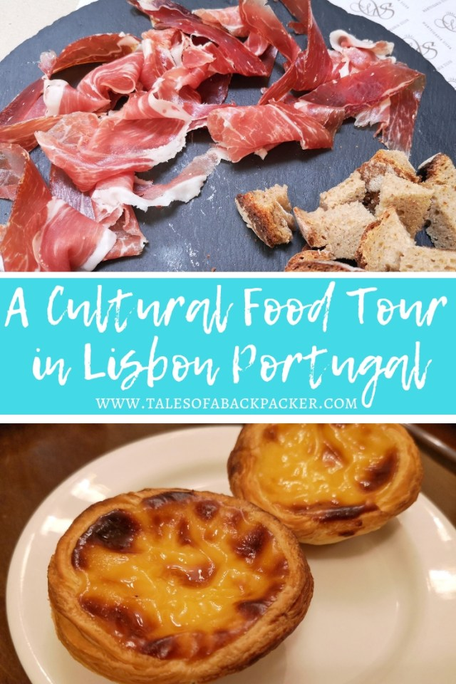 Food in Lisbon is amazing, and although Portuguese cuisine is not as well known as it's Spanish neighbour, the flavours, produce and local dishes available here are good enough to rival any top foodie destination.  To learn more about the food in Portugal and where to eat the best food in Lisbon, I contacted Taste of Lisboa to see if I could join one of their cultural food tours in Lisbon.  They suggested their Downtown-Mouraria Food and Cultural Walk which was in a part of Lisbon renowned for Fado, a traditional form of music in Portugal.  #Portugal #Europe #Food #FoodTour #PortugueseFood #Lisbon #LisbonFoodTour #Foodie #FoodinLisbon