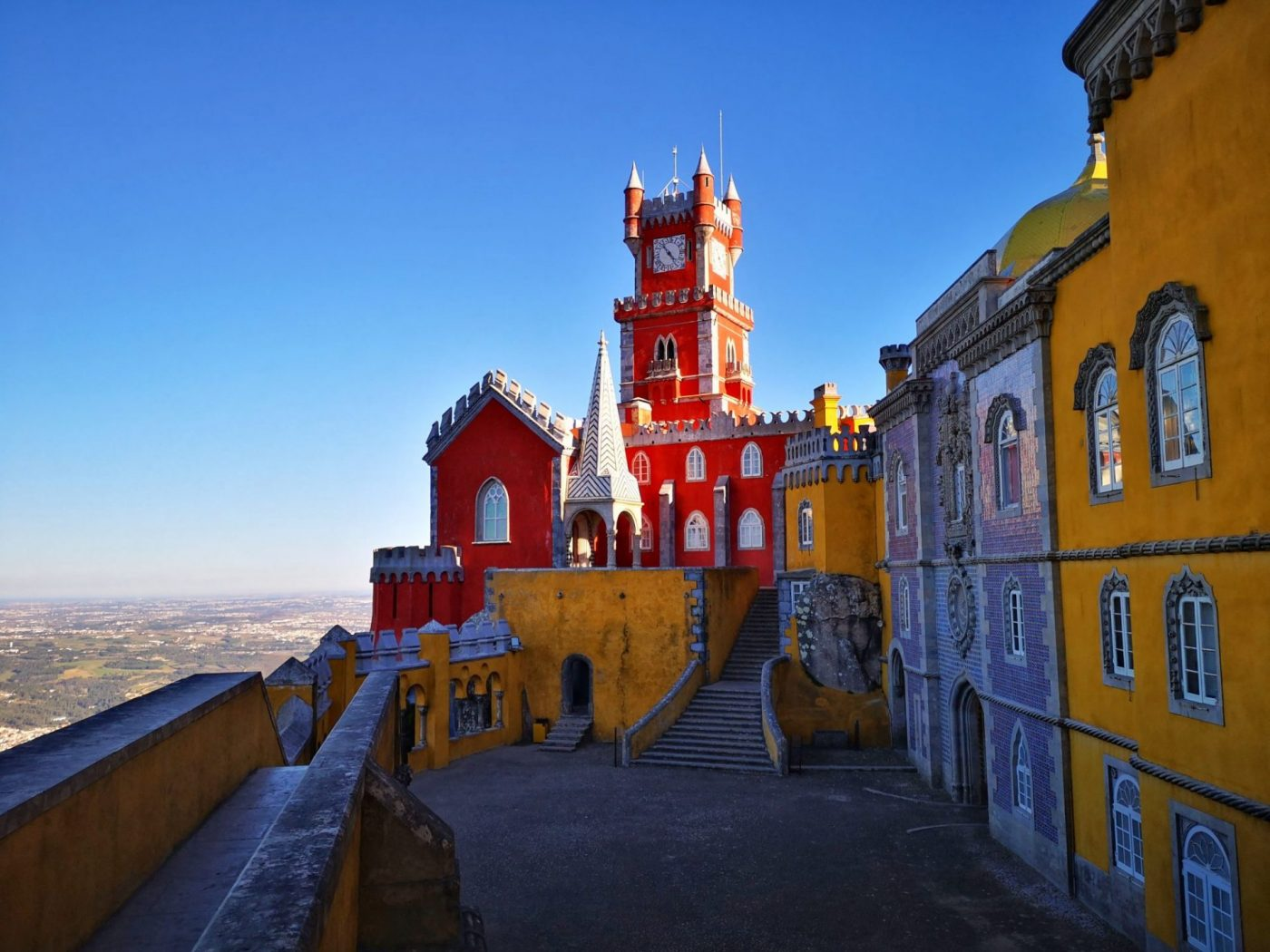 The Best Views of Pena Palace & Gardens in Sintra, Portugal