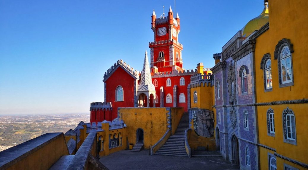 Pena Palace in Sintra Portugal