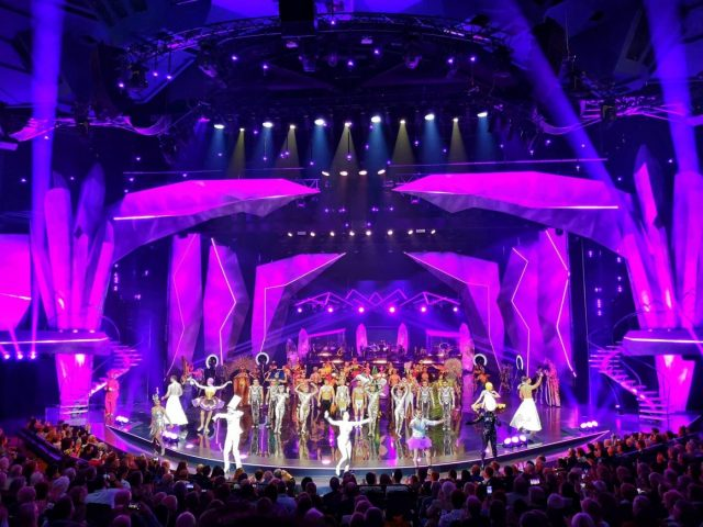 My View of the VIVID Grand Show Stage at the Palast Berlin