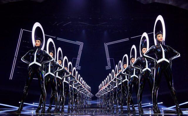 Chorus Line Dancers in the VIVID Grand Show Friedrichstadt - Palast Berlin