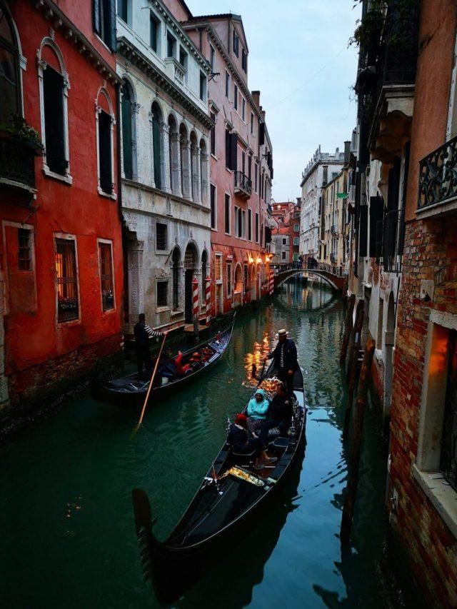 Gondolas and Bridges create beautiful views everywhere in Venice