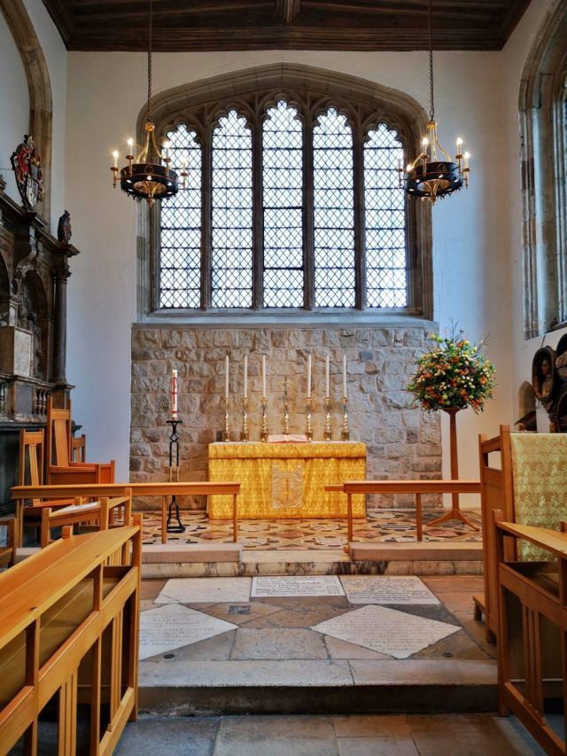 the Chapel Royal of St Peter ad Vincula